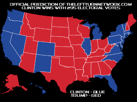 Official Prediction for the 2016 Presidential Election Electoral College Vote